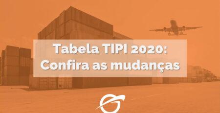 Tabela TIPI 2020